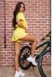 Костюм женский  цвет желтый 180R9-1 недорого