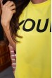 Костюм женский  цвет желтый 180R9-1 цена 1279.0000 грн