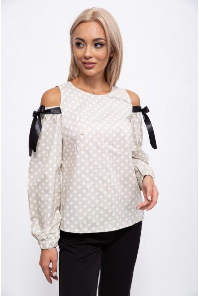 Блузка 115R286-5 цвет Бежевый