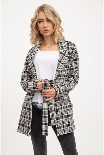 Пиджак женский 115R3041D цвет Черно-белый