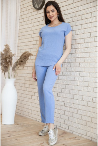 Костюм женский повседневный футболка и штаны Джинс цвет 119R393
