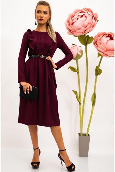 Платье женское 102R065 цвет Сливовый