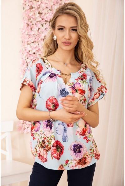 Блуза женская 172R32-1 цвет Голубой 55362