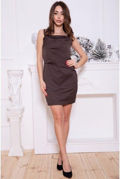 Платье женское 115R16-2 цвет Шоколадный