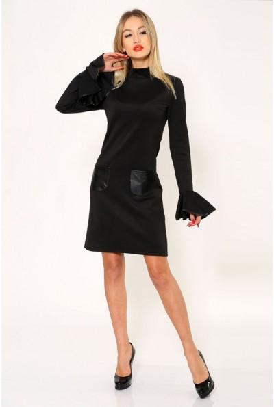 Платье 104R1214 цвет Черный