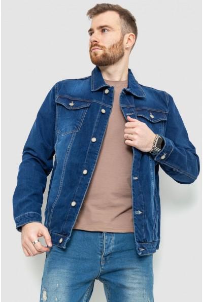 Джинсовая куртка мужcкая 157R0110 цвет Синий