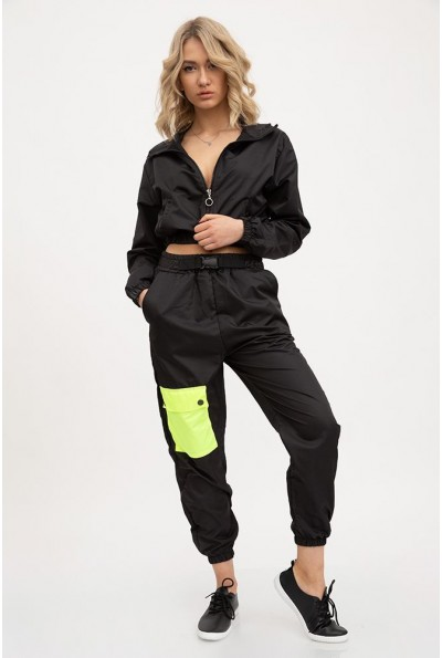 Спорт костюм женский 103R2029 цвет Черный