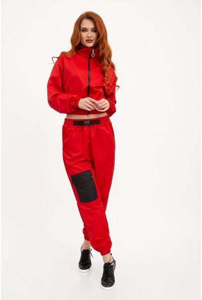 Спорт костюм женский 103R2029 цвет Красный