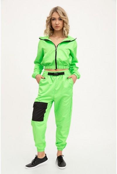 Спорт костюм женский 103R2029 цвет Салатовый