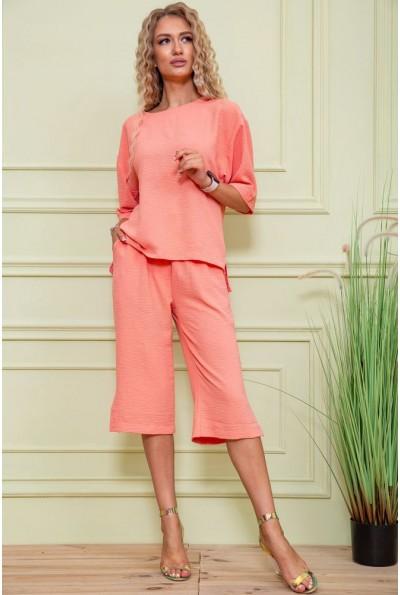 Костюм женский  цвет персиковый 102R207 61077
