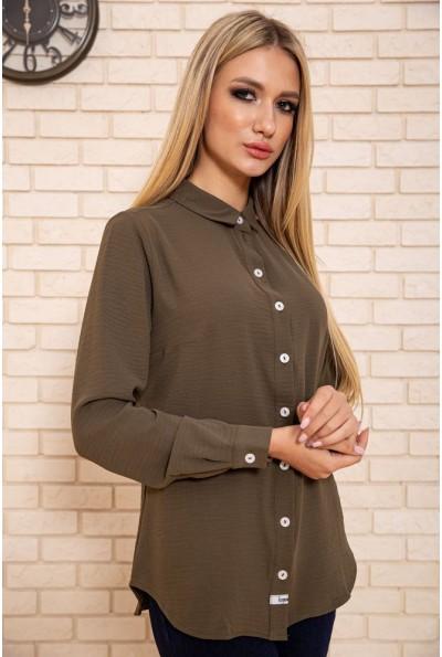 Рубашка женская 115R3411F цвет Хаки