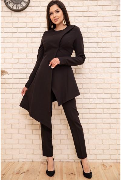 Костюм женский нарядный 167R1857 цвет Черный