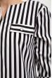 Блуза женская 119R118S цвет Черно-белый скидка