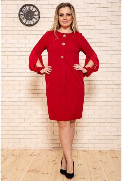 Платье 150R635 цвет Бордовый