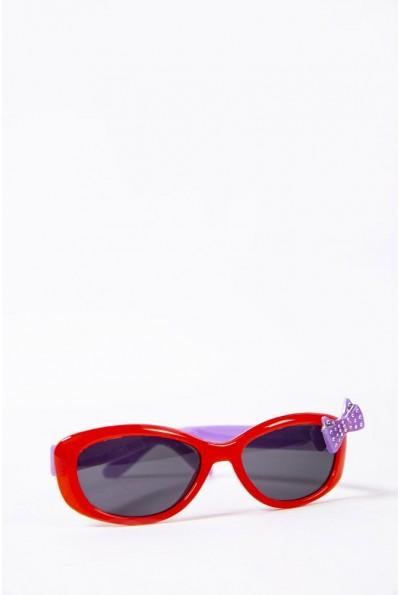 Очки  детcкие  солнцезащитные 154R6614 цвет Красный 52663