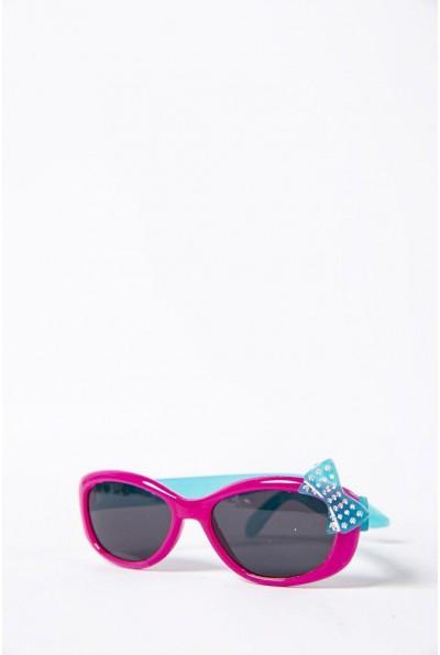 Очки  детcкие  солнцезащитные 154R6614 цвет Розовый 52665
