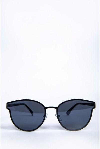 Очки женские  солнцезащитные  154R001 цвет Черный 62164