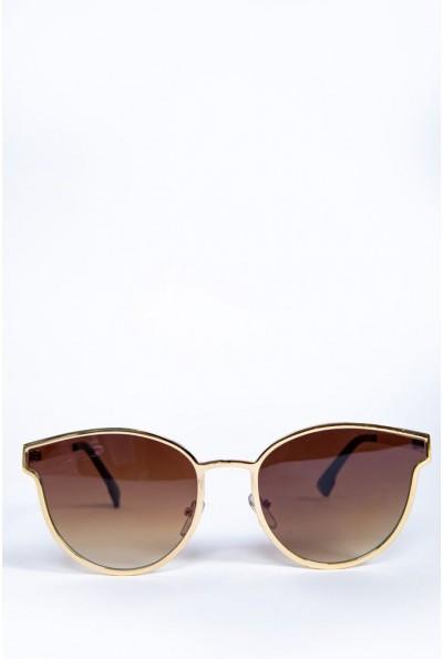 Очки женские  солнцезащитные  154R001 цвет Светло-коричневый 62160