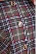 Рубашка женская в клетку  103R195 цвет Хаки скидка