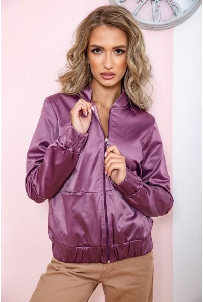 Бомбер женский  цвет светло-фиолетовый 102R205-1 65484