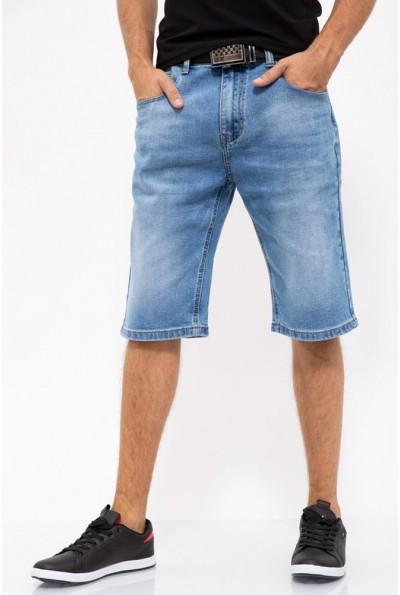 Джинсовые шорты мужские 144R906-4A цвет Голубой