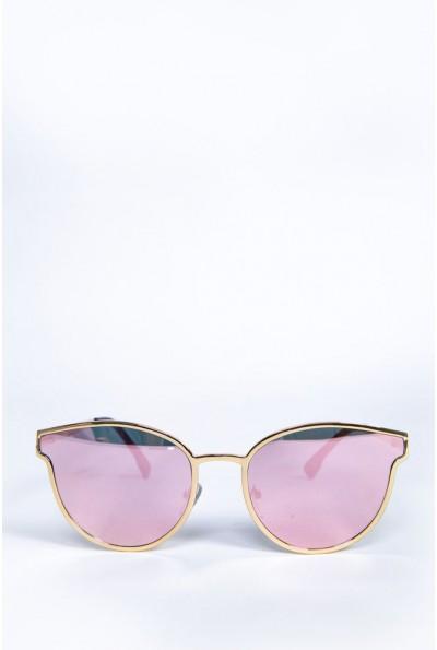 Очки женские  солнцезащитные  154R001 цвет Розовый 62158