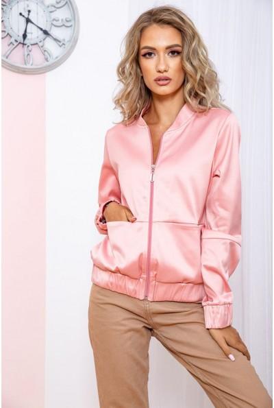 Бомбер женский  цвет розовый 102R205-1 65482