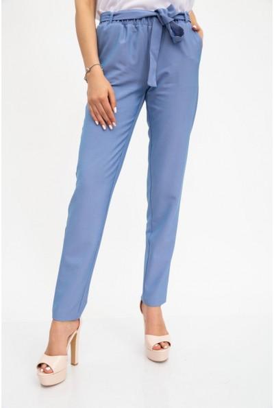 Брюки женские, однотонные, джинс 115R366R