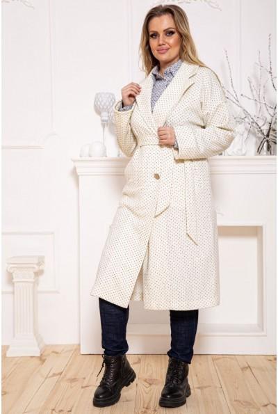 Пальто женское 115R417S цвет Молочный