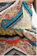 Сарафан женский 115R6-2 цвет Желто-голубой цена 159.0000 грн