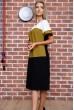 Платье  цвет молочно-оливковый 150R621 недорого