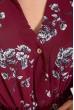Платье женское 115R393-9 цвет Бордовый цена 1009.0000 грн