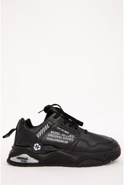 Кроссовки мужские 129R181120-3 цвет Черный