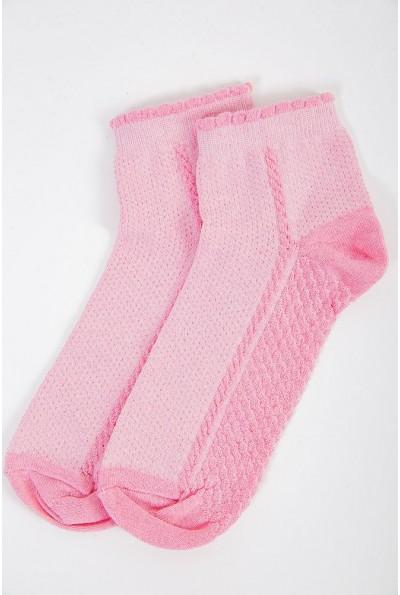Носки женские 151R017-1 цвет Розовый 41215