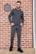 Купить Однотонный мужской спортивный костюм 131R301-08 60294