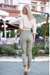 Брюки женские 149R9311-8 цвет Хаки стоимость