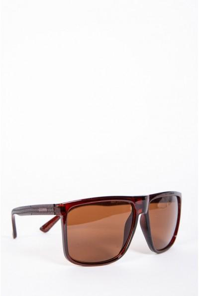 Очки мужские солнцезащитные коричневые 154R5824-1 57058