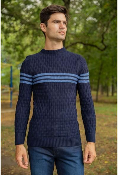 Джемпер мужской 154R2029 цвет Синий