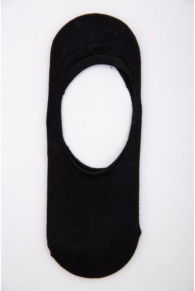 Следы женские с силиконом на пятке 151R016 цвет Черный