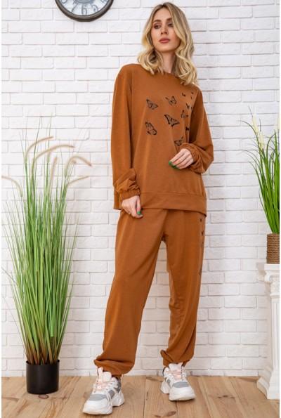 Спорт костюм женский 102R168 цвет Темно-коричневый 56212