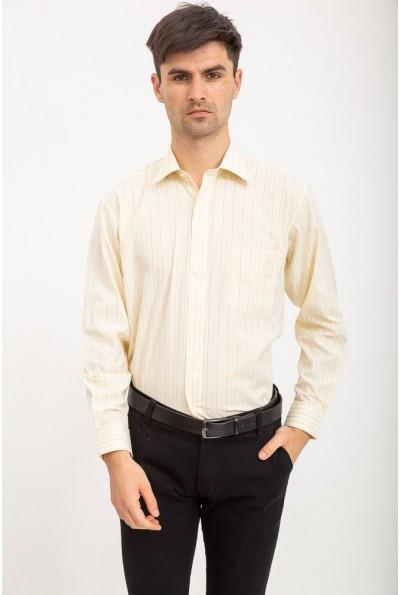 Рубашка светлая классическая нарядная AG-0002344 цвет Слоновая кость