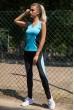 Спорт костюм женский  цвет черно-голубой 102R075 цена 1029.0000 грн