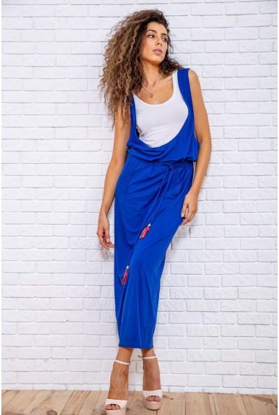 Платье 167R5-7 цвет Электрик 62300