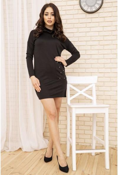 Платье женское мини цвет Черный 102R179