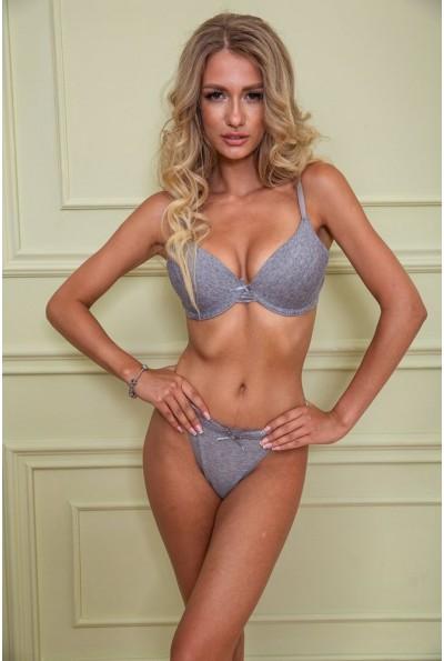 Комплект жен.белья 131R7438-1 цвет Серый 40614