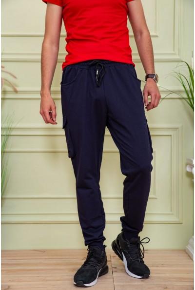 Спортивные  брюки мужские 119R212 цвет Темно-синий 58929