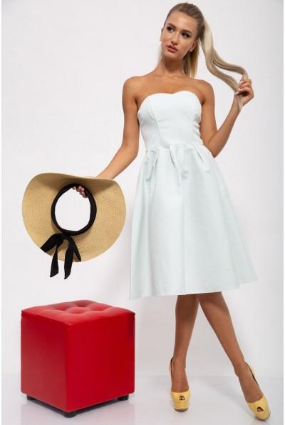 Платье 131R2230 цвет Бело-зеленый