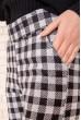 Брюки женские 117R530 цвет Черно-серый скидка