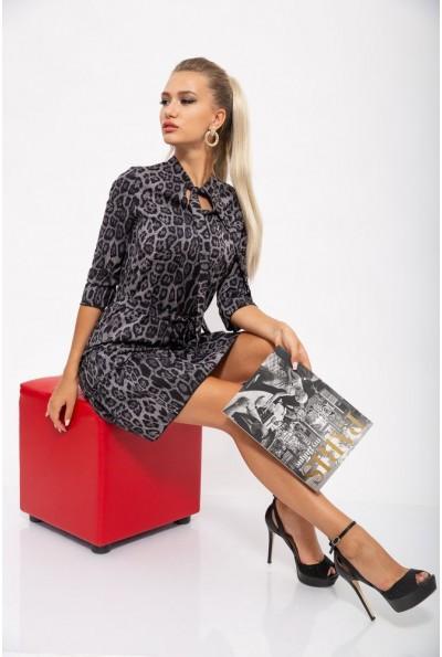 Платье женское 112R485-3 цвет Серый