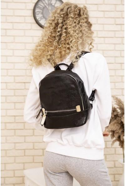 Маленький рюкзак из эко-кожи цвет Черный 154R003-39-1 53714
